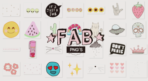 Fab png's by Psychedeliclub