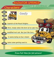 Radiator Springs Goofy by combatmaster