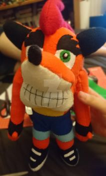 Crash bandicoot by SewManyTeddies