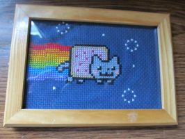 Nyan Cat by DawnMLC