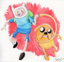 What Time Is It? Watercolour Time by forte-girl7