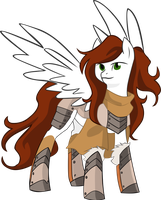 Vector Lady Aurora of the north by Barrfind