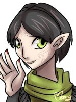 DA2: Merrill by Maryloza