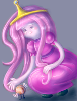 Princess Bubblegum by KissTheThunder
