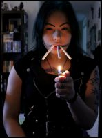 Three cigarettes part one. by MoiraHermione