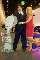 Stan and Francine Smith.. by Eric--Cartman