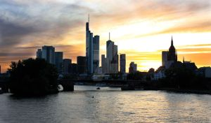 Skyline Frankfurt by DandD-Photography