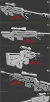 M130 Advanced Sniper Rifle 3DS Max Views by Malcontent1692
