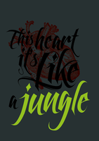 Heart it's Like a Jungle by mikymeg