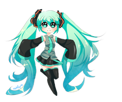 Miku by Mehlyna