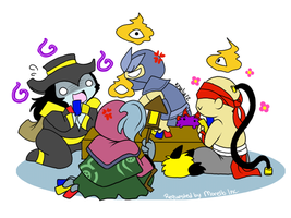 LoL - Poker Night by Khalia1114
