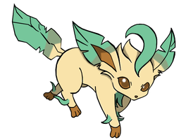Leafeon by DBurch01