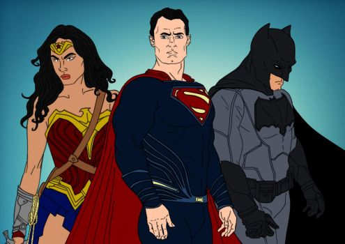 DC Trinity by Comicbookguy54321