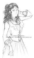 Christa Troy - for Adachy by Madda-Sketches