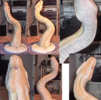 burmese python painted by missmonster