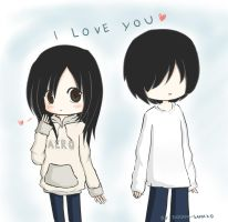 Chibi I Love You by Dooom-Sama