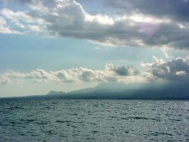 Sea and clouds by polanri-stock