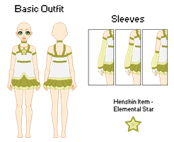 Jewel Knight - Outfit Ref by TsukimineGhost