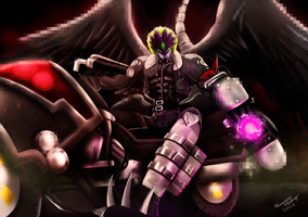 Demon Lord Beelzemon by M3trisjm92