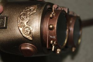 Steampunk Welding Goggles 2 by AirshipPirateDaylina