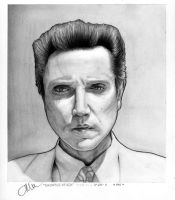 Christopher Walken by Qurkiegrl