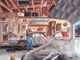 The Life Story Of A 1970 Chevy Chevelle (Part 30) by FastLaneIllustration