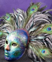 Peacock Showgirl by EffigyMasks