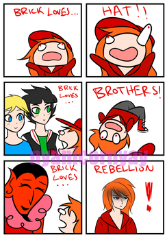 Brick loves.... rebellion. by cinyanmon