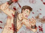 Spartacus: Angry Agron by rumi-nyo