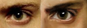 Alec's eye WIP by Jugglingwithfire