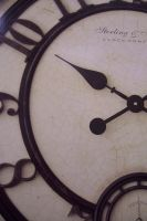 Clock face free rsource by paintresseye