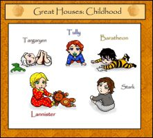 ASoIaF. Great Houses: Childhood by Arashell