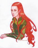 Tauriel by Lilianbelieve
