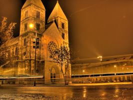 Katedral from budapest by attilakel