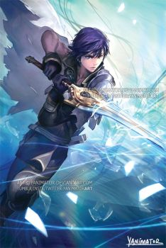 Fire Emblem Chrom by yanimator