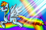 Rainbow Dash-Element of Loyalty by DragonessBlue