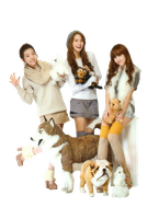 [Render] Sunny Yoona Jessica SNSD by HanaBell1