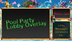 League of Legends Pool Party Lobby Overlay by ToranasOverlays
