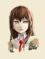 Makise Kurisu by paxiti