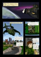 My comics/ first page by Peasmman