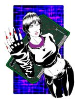 Molly - Neuromancer by Aleph777