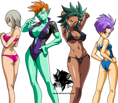 DBShinsei Girls Swimsuit Edition by MAD-54