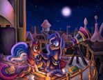 Com: Lovely Night by erovoid