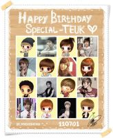 Happy Birthday Teukie by MyCherishe