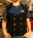 Steampunk Vest WIP by LadyMaxwell