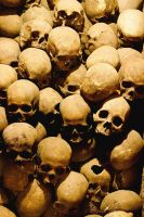 Skulls in Lima Peru by Jimbone360