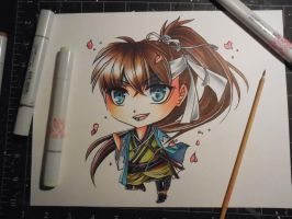 Copic Chibi Heisuke by Mireielle