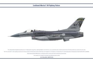 F-16 New York ANG 1 by WS-Clave