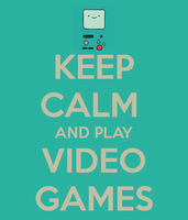 KEEP CAMLM AND PLAY VIDEO GAMES WITH BEMO!!! by KINGLUMPY