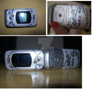 customized mobile by paprikaboy